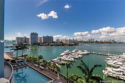 Miami Beach Condo For Sale: 1800 Sunset Harbour Dr #1010