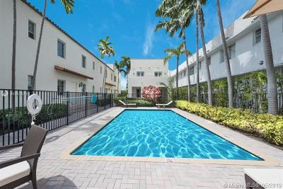 Miami Beach Condo For Sale: 1512 Pennsylvania Ave #2C