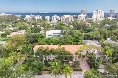 Miami FL Single Family Home For Sale: $4,250,000