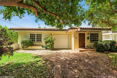 Coral Gables Single Family Home For Sale: 1402 Urbino Ave