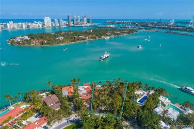 Coconut Grove, Coral Gables, Fisher Island, Key Biscayne, Miami Beach Single Family Home For Sale: 6 S Hibiscus Dr