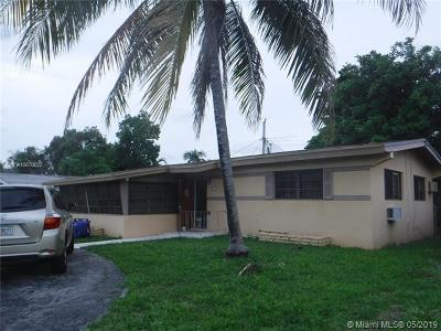 North Miami Beach Single Family Home Active With Contract