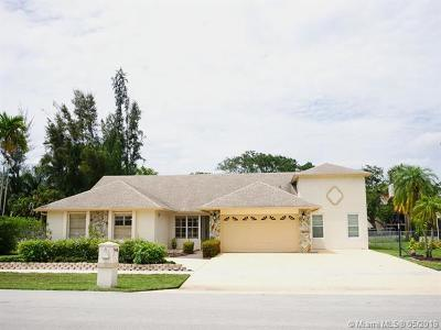 Palm Beach County Single Family Home For Sale: 9401 Old Pine Rd