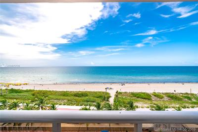 Miami Beach Condo For Sale: 6039 Collins Ave #817