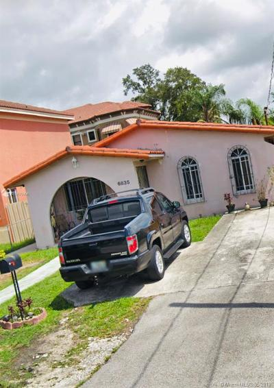 Miami-Dade County Single Family Home For Sale: 6835 SW 15th St