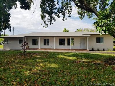 Homestead Single Family Home For Sale: 14465 SW 256th St