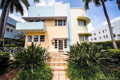 Miami Beach Condo For Sale: 760 Euclid Ave #103