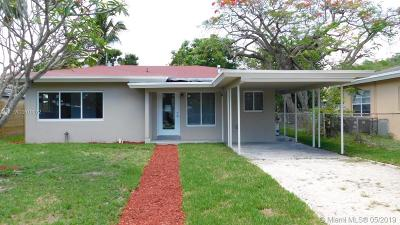 Fort Lauderdale Single Family Home For Sale: 1123 NW 7th Ave