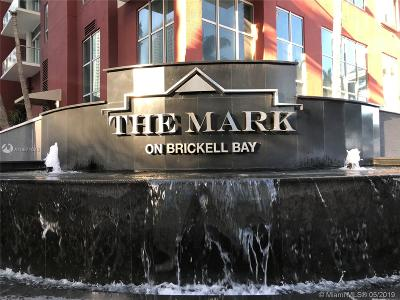 Mark On Brickell, Mark/Brickell Condo, The Mark At Brickell, The Mark On Brickell, The Mark, The Mark On Brickell Cond Condo For Sale: 1155 Brickell Bay Dr #1105