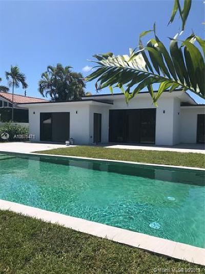 Miami Beach Single Family Home For Sale: 1375 Daytonia Rd
