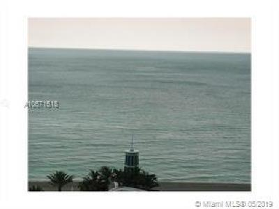 Hollywood Condo For Sale: 3101 S Ocean Dr #1202