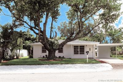Wilton Manors Single Family Home For Sale: 124 NW 22nd St