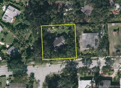 South Miami Residential Lots & Land For Sale: 5975 SW 62nd St