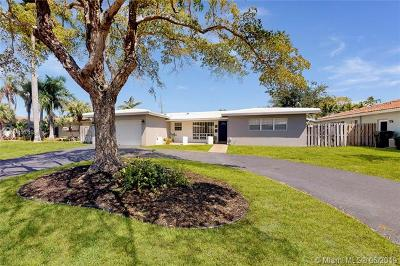Fort Lauderdale Single Family Home For Sale: 1831 NE 41st St