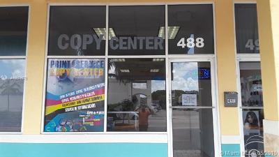 Hialeah Business Opportunity For Sale: 488 Palm Ave