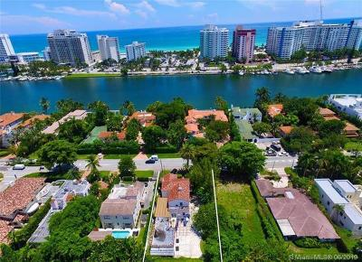 Miami Beach Single Family Home For Sale: 5334 Pine Tree Dr