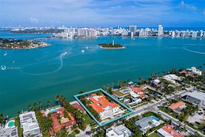 Coconut Grove, Coral Gables, Fisher Island, Key Biscayne, Miami Beach Single Family Home For Sale: 121 N Hibiscus Dr