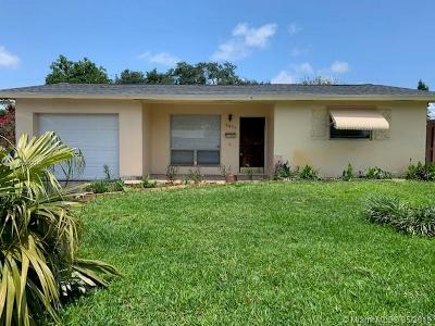 Fort Lauderdale Single Family Home For Sale: 3371 SW 15th Ct