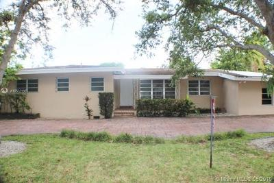Pinecrest Single Family Home For Sale: 7340 SW 96th St