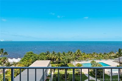 Key Biscayne Condo For Sale: 881 Ocean Dr #7G