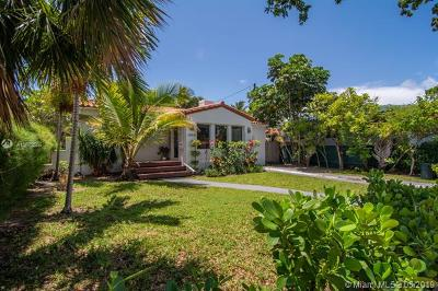 Miami Beach Single Family Home For Sale: 1590 Normandy Dr