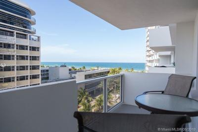 Miami Beach Condo For Sale: 100 Lincoln #702