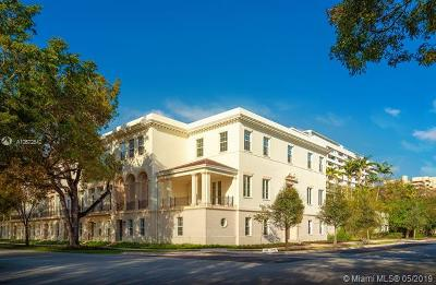 Miami-Dade County Condo For Sale: 744 Biltmore Way #1