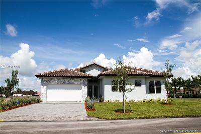 Homestead Single Family Home For Sale: 29644 SW 168 Ct
