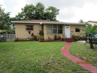 North Miami Single Family Home For Sale: 1250 NW 131st St