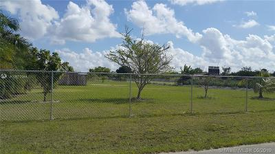 Homestead Commercial Lots & Land For Sale: 19760 SW 324th St