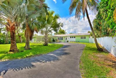 South Miami Single Family Home For Sale: 6241 SW 60th St