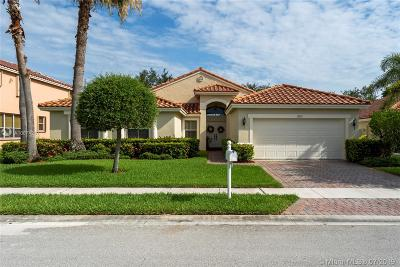 Pembroke Pines Single Family Home For Sale: 19135 SW 15th St