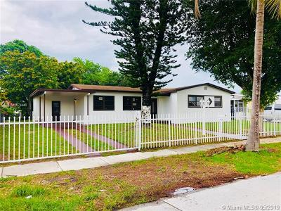 Miami Gardens Single Family Home For Sale: 531 NW 195th Ter