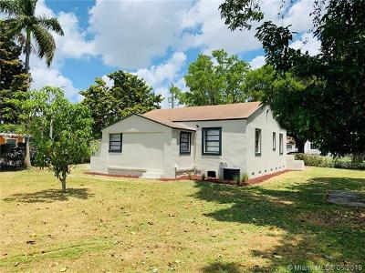 Miami Single Family Home For Sale: 1394 NW 42nd St