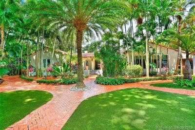 Coral Gables Single Family Home For Sale: 2710 Columbus Blvd