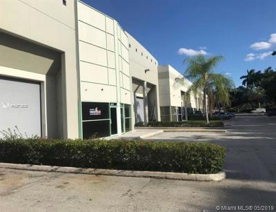 Pembroke Pines Commercial For Sale: 911 SW 209 Ave #108