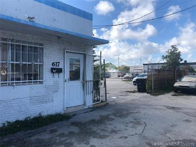 Hallandale Commercial For Sale: 617 N Dixie Hwy