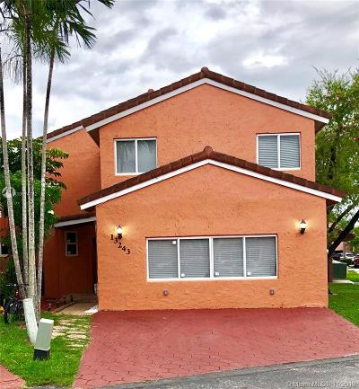 Miami Single Family Home For Sale: 13243 SW 9th Ter
