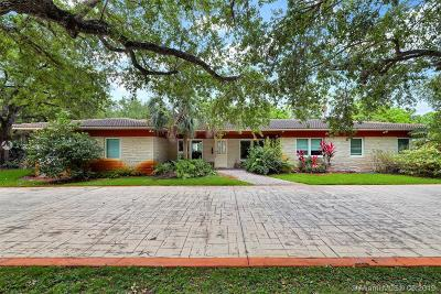Pinecrest Single Family Home For Sale: 9790 SW 67th Ave