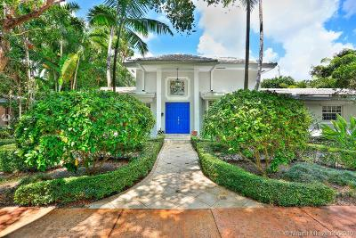 Coral Gables Single Family Home For Sale: 6906 Pallazzo St