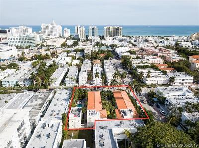 Miami Beach Condo For Sale: 1508 Pennsylvania Ave #1B