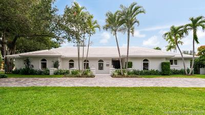 Coral Gables Single Family Home For Sale: 4722 Granada Blvd
