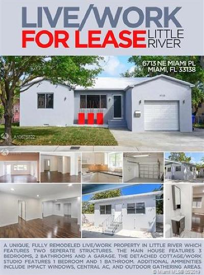 Miami Commercial For Sale: 6713 NE Miami Pl #1 & 2