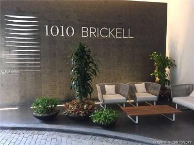 Miami Condo For Sale: 1010 Brickell Ave #1603