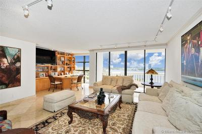 Miami-Dade County Condo For Sale: 1000 W Island Blvd #1402