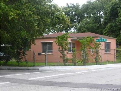Miami Single Family Home For Sale: 16050 NE 6th Ave