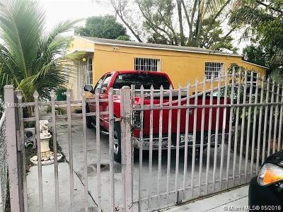 Opa-Locka Single Family Home For Sale: 1121 York St