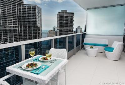 Miami-Dade County Condo For Sale: 200 Biscayne Boulevard Way #4205