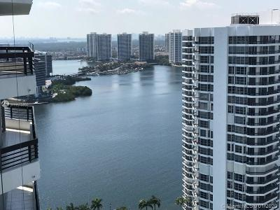 Aventura Condo For Sale: 3500 Mystic Pointe Dr #3502