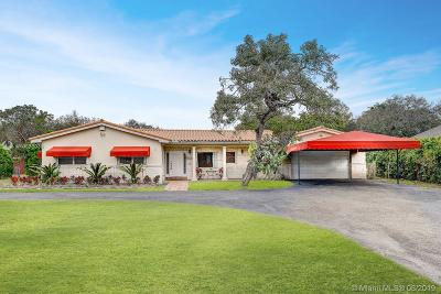 Single Family Home For Sale: 11500 SW 95th St